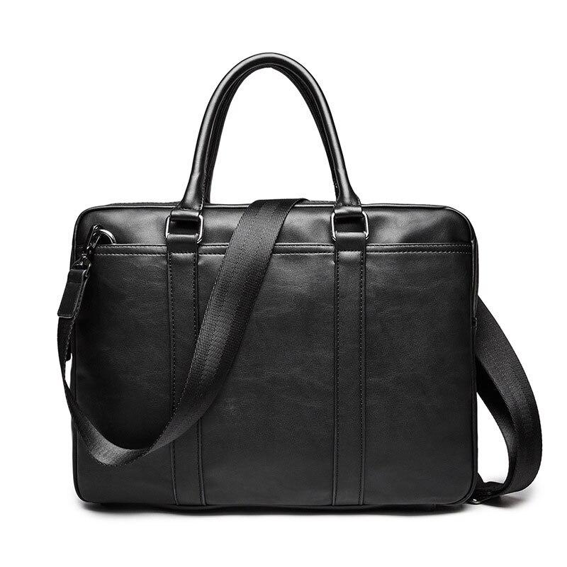 Environment-friendly PU Leather Handbag Business Bags Fashion Style Youth Single Shoulder Bag Men's Briefcase Exempt Postage an incremental graft parsing based program development environment