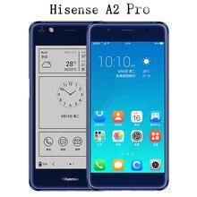"""Hisense A2 Pro doppel bildschirm handy LTE FDD 5,5 """"Farbe 4G RAM 64G ROM doppelseitige 2.5D gebogene fingerabdruck 5,2 tinte bildschirm"""