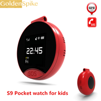 Дети S9 Смарт часы Android 1,22 дюймов круглый экран 240*240 наручные gps SOS Поддержка SIM карты Smartwatch телефон pk S668