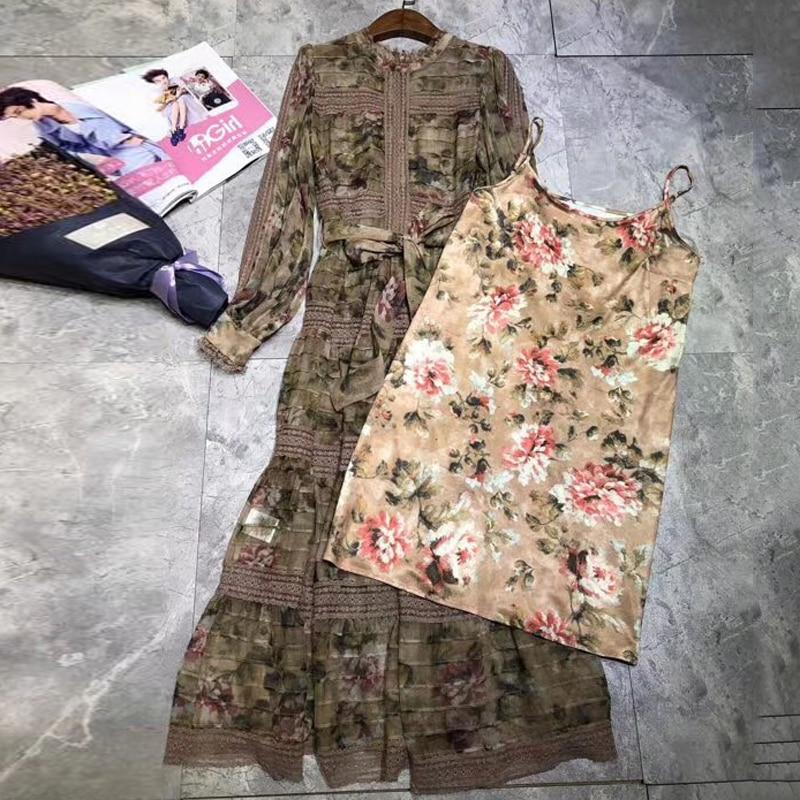 Conduites Qualité Femmes Carburant Mode De Supérieure Floral 2019 Robe D'été Pour Élégant Imprimé Nouveauté 7YfgIb6yv