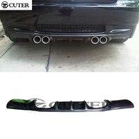 E90 M3 Carbon Fiber Rear Lip Bumper Splitter Diffuser Car Styling for BMW 3 Series E90 M3 2005 2011