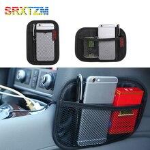 Bag Storage-Box Pocket Mobile-Phone-Charger Auto-Seat Universal Multifunction Mesh SRXTZM