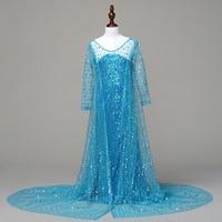 Perakende Boncuk Parlaklık Güzellik Çocuk Kostümleri Prenses Uzun Elbise Kız Parti Rop Elbise Şal Ile BXLP001