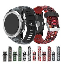 For Garmin Fenix 3 Fenix 3 HR Fenix 5x Bands Replacement Silicone Watchband Strap for Garmin Fenix 5X Plus 3/3 HR Straps цена и фото