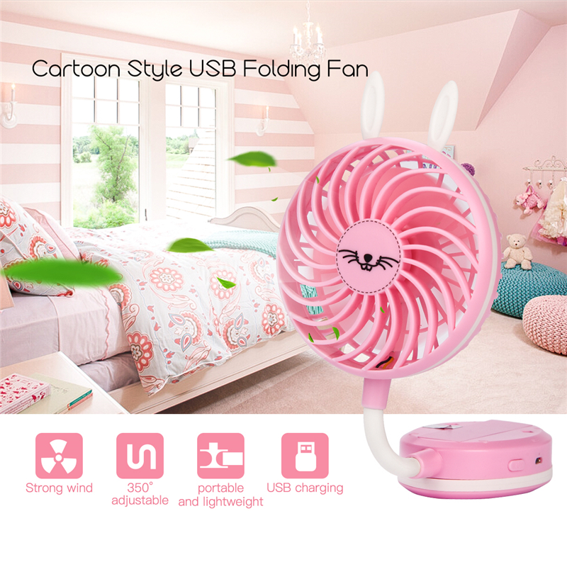 Portable Mini USB Fan Ventilation Foldable Air Conditioning Fans Hand Held Cooling Fan For Office Home Outdoor Rechargeable Fan 3 files mini usb hand fan cooling for home outdoor portable fan air conditioner cooler fans with 1200ma rechargeable battery