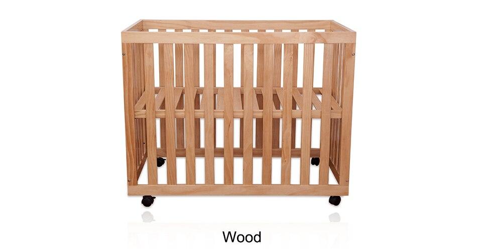 سرير اطفال حديثي الولادة خشب