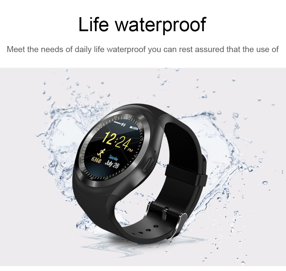 696 Bluetooth Y1 Smart Watch Relogio Android SmartWatch Phone Call GSM Sim Remote Camera Information Display Sports Pedometer 11