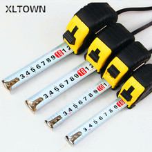 Xltown The New High quality 3m-10m High Quality Steel Materials Stainless Steel Tape Measure Tool Free Shipping Durable tape cheap Woodworking xltown040