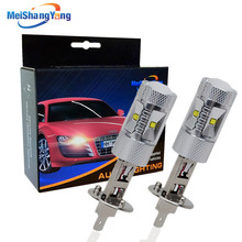 1 pair super bright white cree chip car light bulb lamp h1 led 30w bulbs kit Auto Fog Lights Vehicles