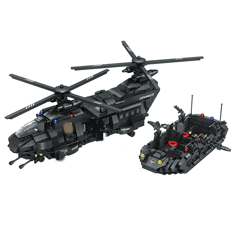 NEW Military Army War special police force CH-47 Chinook helicopter Building Block Sets Bricks Model Kids Toy legoing military army war special police force ch 47 chinook helicopter building blocks sets bricks model kids toys compatible legoe