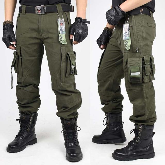 black tactical cargo pants - photo #32