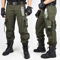 PANTALONES PANTALONES CARGO Pantalones Overoles PANTALONES TÁCTICOS MILITARES de Combate Del Ejército Verde Y Negro Ropa Para Hombres
