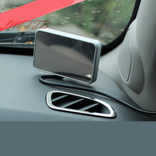 NEW 2pcs stainless steel Car air conditioning outlet decoration trim car sticker For Chevrolet Cruze Car Styling