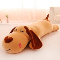 Plush toys for gifts New pillow creative lying dog doll kawaii soft stuffed plush toy doll lying dog can wash big head dog