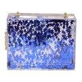 2017 Famousbrand куб моделям с подиума прозрачный акриловый баррелей ofgasolinebottlesclutch вечер сумка женская сумка цепи shoulderbag