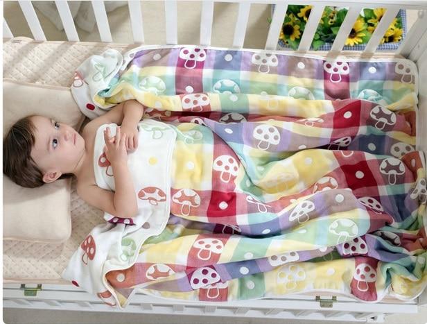Milagre bebê swaddle 100% musselina algodão 6