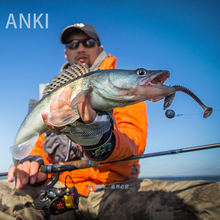 ANKI Fishing Lures FAT Swing Impact Swimbait 85mm/5.5g 10pc/Lot Craws Soft Bait Bass