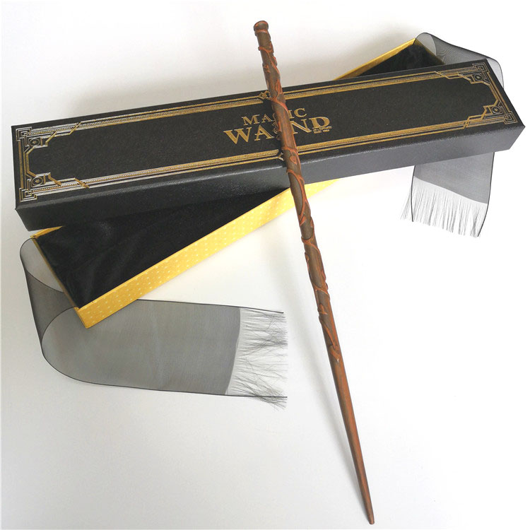 New Metal Core Hermione Magic Wand/ HP Magical Wand/ High Quality Gift Box Packing Free Train Ticket