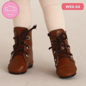 Image 5 - Chaussures en cuir PU BJD 1/6, bottes décontractées pour Linachouchou, pour poupée, accessoires, luodoll, livraison gratuite