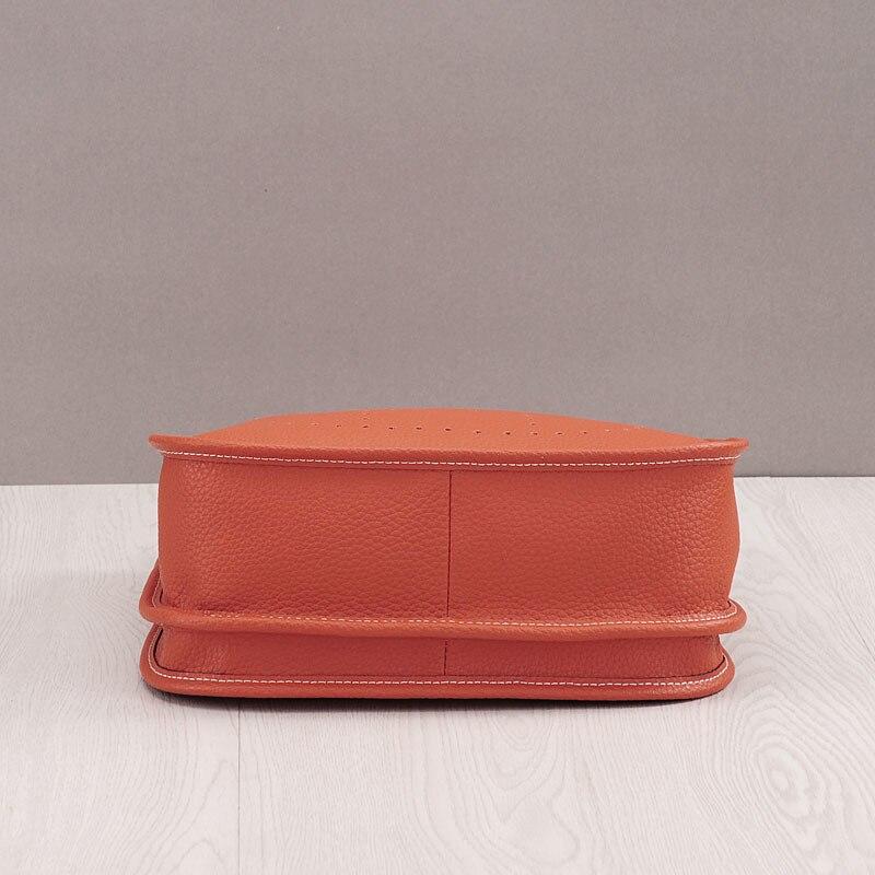 LOYOMA prawdziwej skóry kobiet wiadro torba skóra bydlęca prawdziwej skóry torby na ramię panie Handbaga mała torebka z szalikiem w Wiadra od Bagaże i torby na  Grupa 3