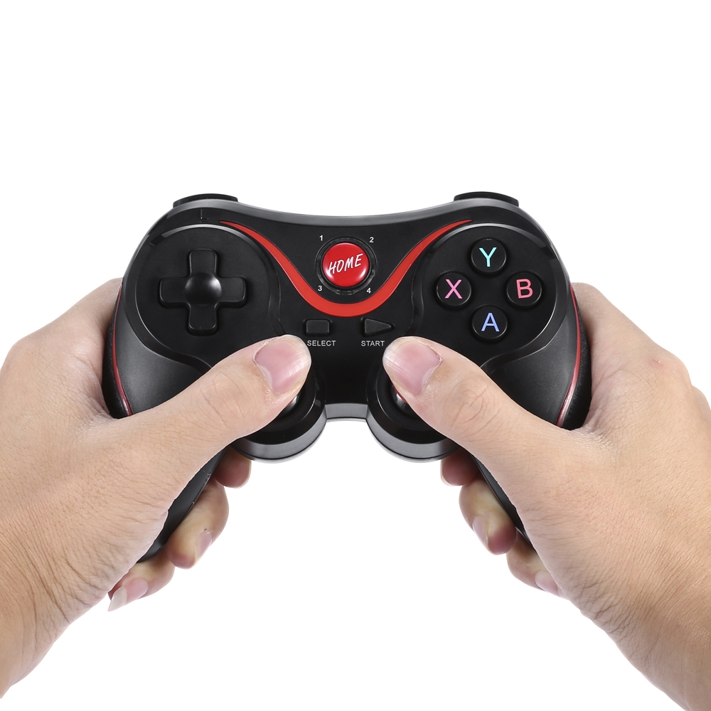 Gen Game X3 Updated T3 Gamepad Joystick Wireless Bluetooth 30 Terios Holder Jp Android Smartphone Vr Box Tv Gaming Remote Control For Phone Pc Tablet In Gamepads From Consumer