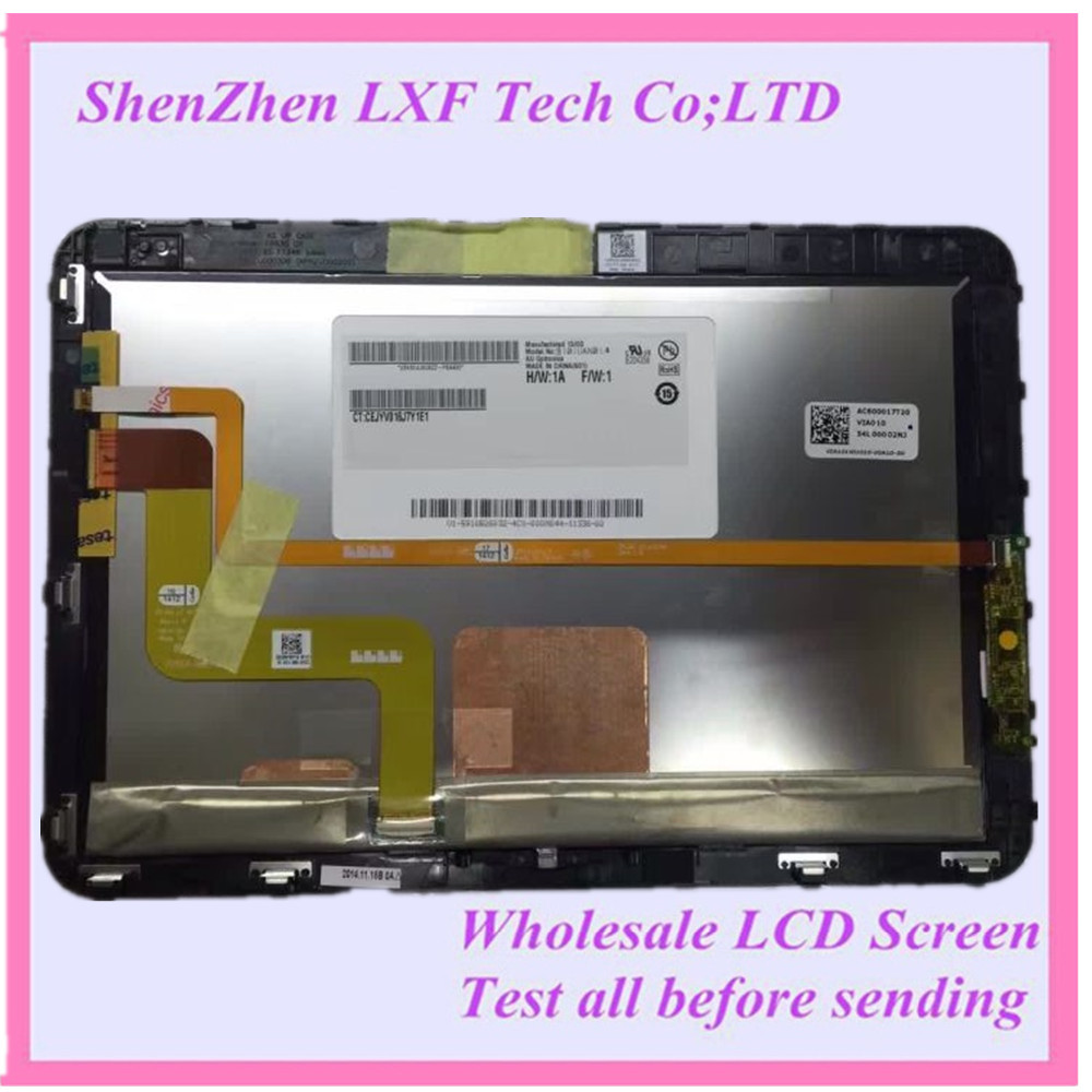 10.1'' lcd touch screen assembly B101UAN01.A B101UAN01 tablet screen 1920*1200 for HP...