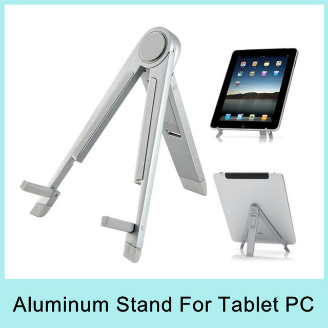 Special Offer Aluminum Alloy Stand Holder Mount For Desktop Tablet PC Foldable Portable Universal 2014 NEW Drop Shipping