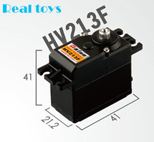 One piece Batan HV213F 26.5kg dual ball bearing digital metal gear coreless servo for rc car rc boat rc airplane