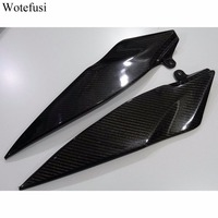 Wotefusi Carbon Fiber Under Tank Side Covers Panels Fairing For Yamaha YZF R1 2007 2008 [PA203]