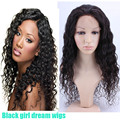 Deep Wave Virgin Brazilian Glueless Lace Front Human Hair Wigs For Black Women The Best Full Lace Wigs Exactly Like The Pictures