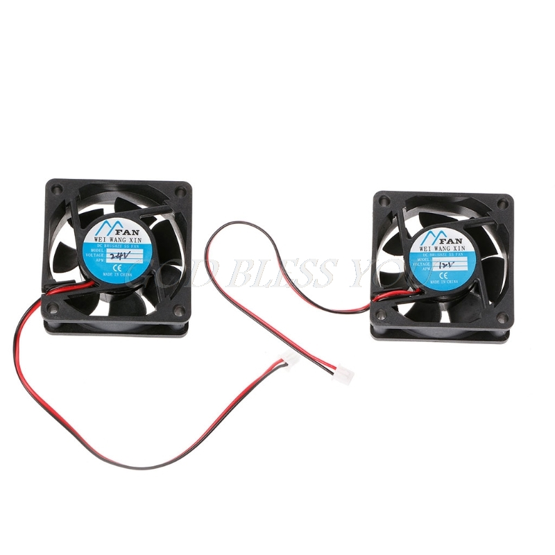 80x80mm DC 5V 2Pin Brushless Quiet PC Computer Cooler Cooling Fan Case Fan