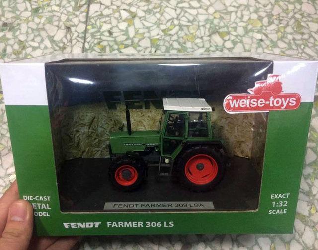 Nueva Weise-toys 1/32 escala Die Cast Metal modelo FENDT agricultor 309 LSA