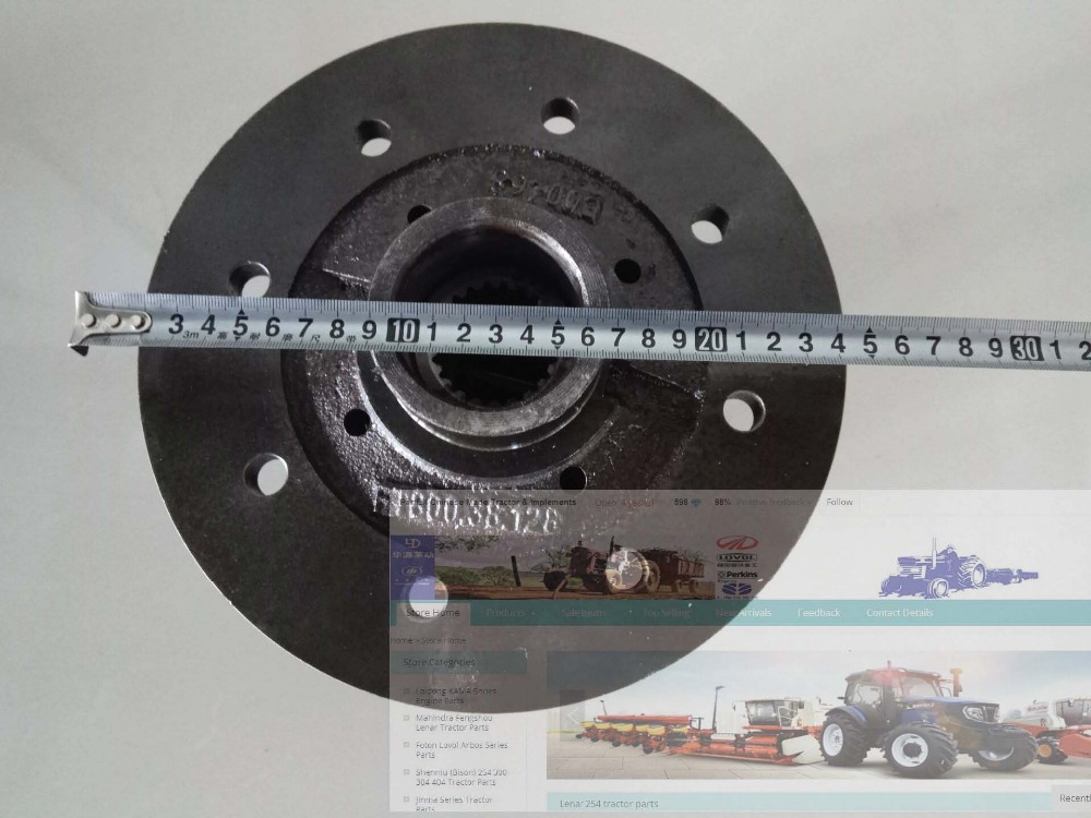 Foton Lovol TD series tractor, the differential lock assembly for rear axle, part number: jd 90 rear middle metal axle with differential lock