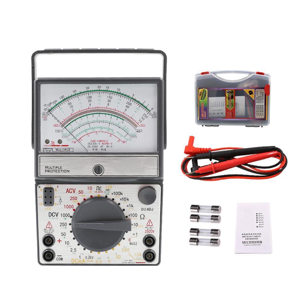 Multimètre mécanique de Protection de fusible de sonnerie de haute précision avec l'alarme de sonnerie