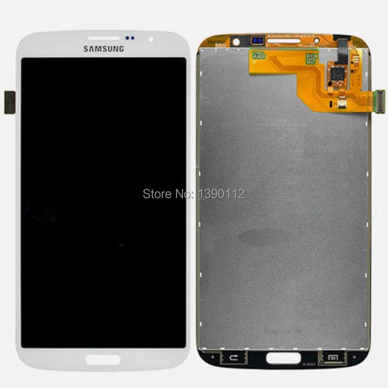 ФОТО LCD Touch Digitizer Screen For Samsung Galaxy Mega 6.3 i527 i9200 i9205 (White)