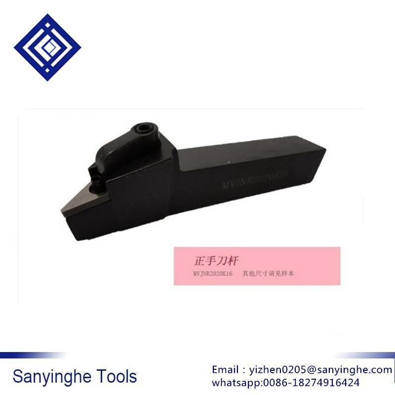 MVJNR2020K16 väliste treipinkide hoidik, MVJNR / L treipingi lõikeriist VNMG160404 / 08/12 sisestuste jaoks