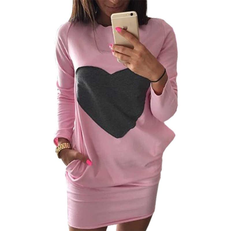 Женское мини-платье, 2019, повседневное, с карманами, с круглым вырезом, посылка, платья с капюшоном, женская одежда, Vestidos LBD9829