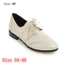 Lace Up Shoes Women Oxfords Shoes Loafer