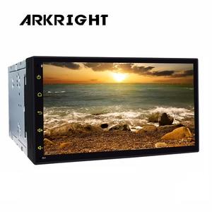 "Image 4 - HD شاشة العالمي راديو السيارة DSP 6.95 ""2 الدين لتحديد المواقع واي فاي بلوتوث مسجل السيارة Andriod8.1 التلقائي Carplay مشغل وسائط متعددة"