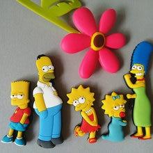 Мультфильм Гомера Симпсона творческий магнит на холодильник раннее образование декоративные наклейки на холодильник домашний декор