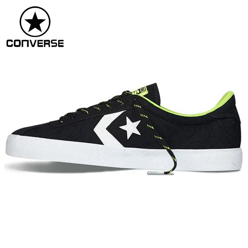 Prix pour Original Nouvelle Arrivée Converse Star Lecteur Unisexe Planche À Roulettes Chaussures Toile Sneakers