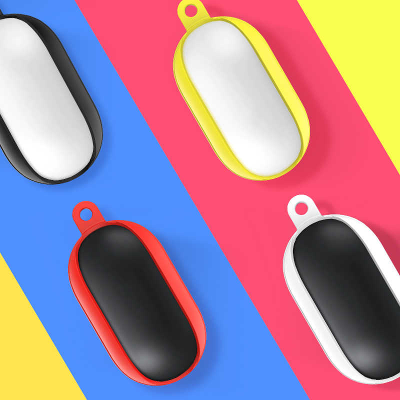 liquid Rubber case For Galaxy Buds earphone, Silicone Bean Case Cover  for Galaxy Buds  Protective Accessories Skin Cover