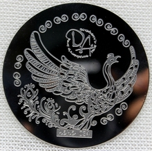 Nail Art Stamping Plate Template Peacock Nail Art Stamp Template Image Plate hehe034 фотоальбом image art sp21 w020