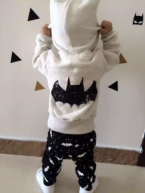 Ins * nova chegada 2015 de veludo de algodão bat camisolas outono inverno hoodies frete grátis