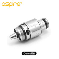 The Newest Aspire Cleito RTA System With Dual Coil Velocity And Tempestuous Airflow Heads For Cleito