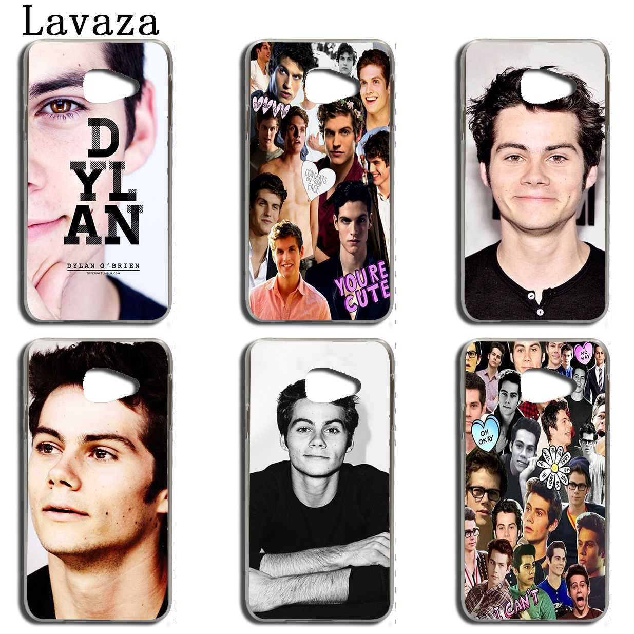 Lavaza Dylan OBrien Teen Wolf Phone Case for Samsung Galaxy A3 A7 A8 A5 2015 2016 2017 2018 Note 8 5 4 3 Grand Prime 2 Cover