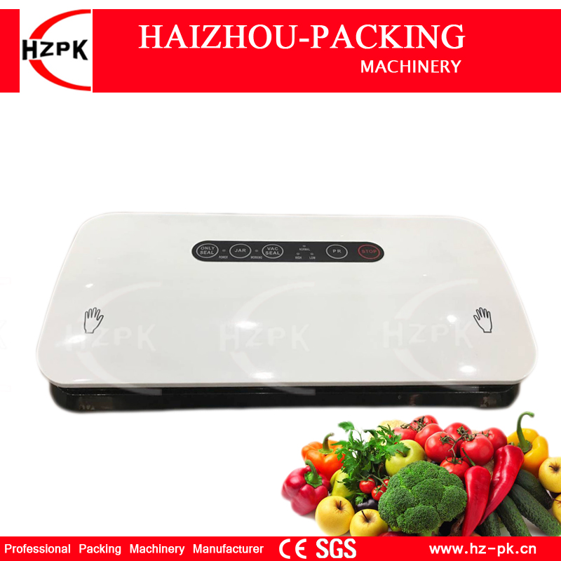 HZPK  Vacuum Sealer Packing Machine Food Vacuum Sealer Both 110V/220V With 3 Meters Long Vacuum Bags For The Kitchen 30cm HZ-300HZPK  Vacuum Sealer Packing Machine Food Vacuum Sealer Both 110V/220V With 3 Meters Long Vacuum Bags For The Kitchen 30cm HZ-300
