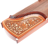 SevenAngel Professional 10 Level Playing Guzheng Yangzhou Musical Instruments Chinese 21 Strings Zither With Full Accessories