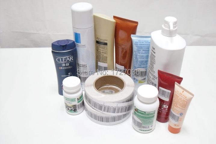 Купить с кэшбэком Free DHL Shipping high Sensitivity EAS rf 8.2mhz soft label barcode 3*4cm 4*4cm