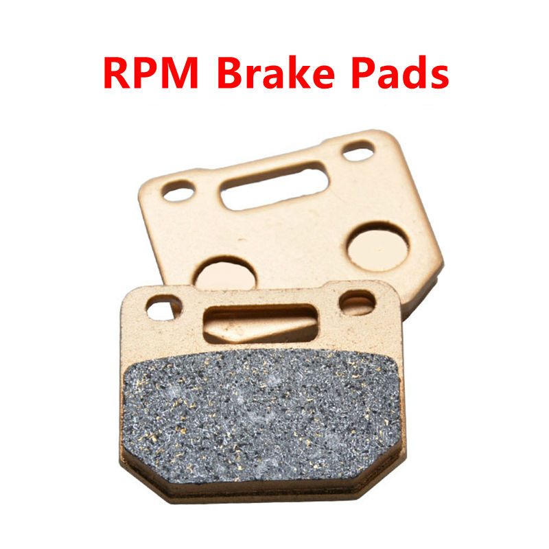 Motorcycle Spare Parts Brake Pads Set RPM HF Scooter High performance Brake Caliper ATV Moped Spare Parts callahan [ 2 ] front performance grade semi loaded red caliper set ceramic brake pads